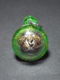 象神必打 內有符珠 Luang Pho Key (龍婆Key) Wat Si Lam Yong(屈史林勇) 佛曆2557 防小人 財運 保平安 避險 人緣 轉運