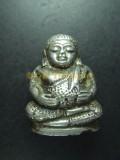 善加財 珍藏古佛  用銀片鋪成 Ayutthaya 年代