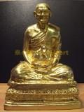 #30501-001 自身佛像 - 龍婆班弟子之一黑猴(龍婆魯士練氹)自身佛像