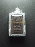 崇笛 Luang Pho Kuay龍婆貴 Wat Kho Si Ta Ram屈告是打喃 佛曆2538 採用真木所製的崇笛佛牌  帶來好運 保平安 避險 事業 人緣 財運 健康