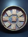 龍婆碰親自身佛牌 用收藏於廟內的木砵再加上九塊龍婆碰親自開光的自身佛牌 Luang Pho Prom龍婆碰 Wat Chong Khae屈倉騎 佛曆2514