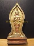 #30387-001 佛祖木牌 - Pra Put Cha,古代佛祖牌(Ayutthaya 年代)