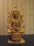 #30402-001 佛祖 - 緬甸檀香木製作的Myanmar Mahamuni 佛(不連佛座)