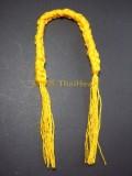 開光手繩(黃色,粗) Wat Lai 保平安 避險 可掛於家居或汽車內