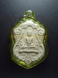 佛祖 龍婆到 Wat Pa Nan Choeng屈班難昌 佛曆2555 蛇嗎型佛祖 此牌於廟688週年紀念製做