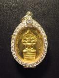 #30092-001  七龍佛 - 前面七龍佛,背面附經文, 屈啦霞麗(Wat Lahan Rai) (已售)